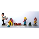 Pixi MINI : Héros de BD Boule et Bill ( 6 figurines )