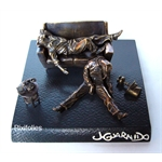 Pixi GUARNIDO : Blacksad Blacksad  bronze