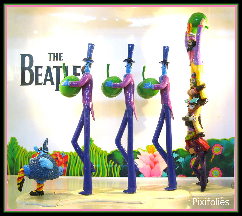 Pixi THE BEATLES Pommeurs