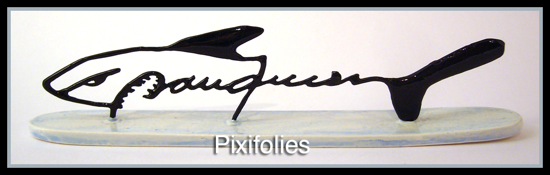 Pixi FRANQUIN : Signature Franquin Requin / Marsu Production