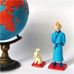 HERGÉ : Mini / 2ème Collection Moulinsart Plomb