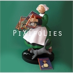 Pixi PINCHON : Bécassine / Collectoys Résine Bécassine Pile d'Albums