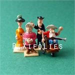 Pixi MORRIS : Mini & Ville de Lucky Luke Bte compl. Eglise - 6 fig.
