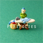 Pixi MORRIS : Mini & Ville de Lucky Luke Bte compl. Blanchisserie - 3 fig.