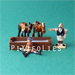 Pixi MORRIS : Mini & Ville de Lucky Luke Bte compl. Saloon - 5 fig.