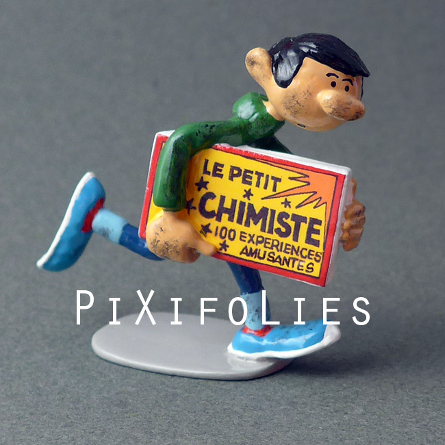 Pixi FRANQUIN : Origine /  Gaston Inventions Gaston et le Kit du Petit Chimiste