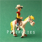 Pixi MORRIS : Mini & Ville de Lucky Luke Lucky Luke et Jolly Jumper - 2 fig.