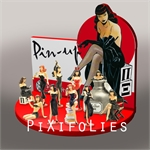 BERTHET : Pin-Up Origine