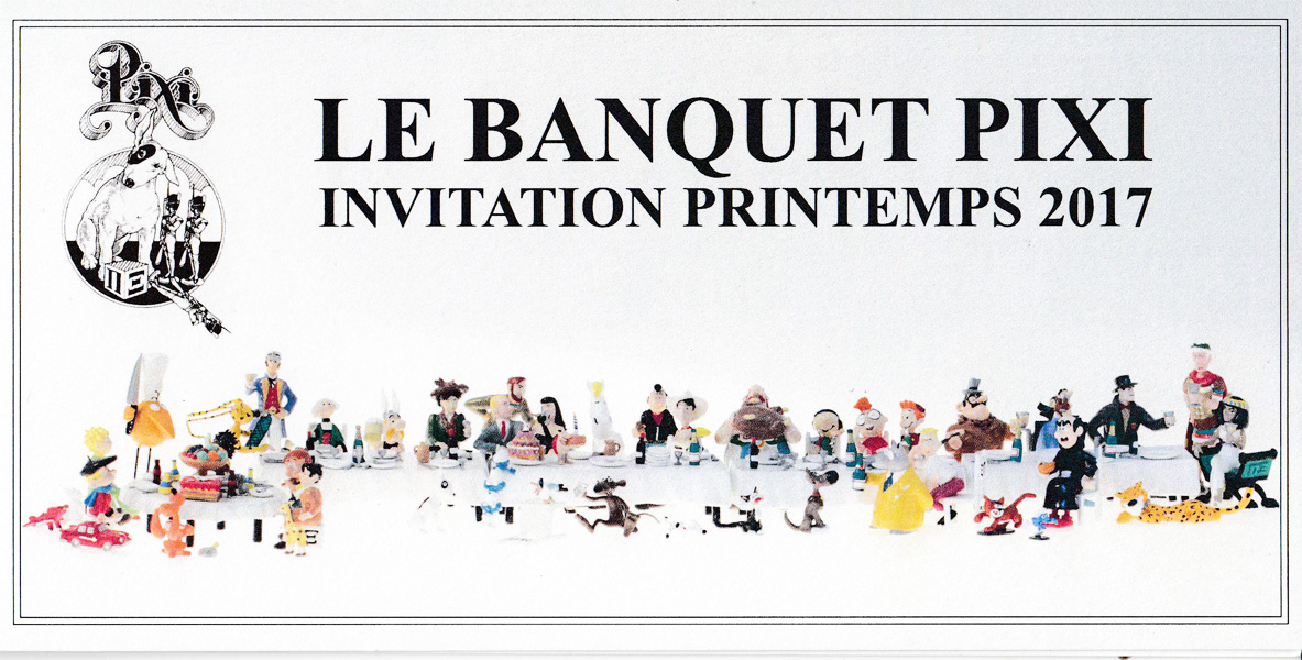 Pixi PIXI A TABLE : Le Grand Banquet Le Banquet  Printemps 2017