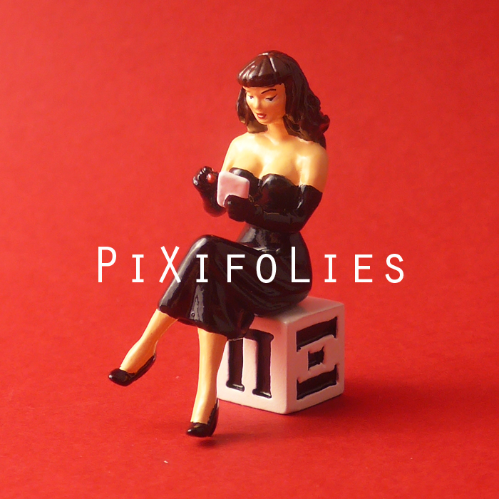 Pixi BERTHET : Pin-Up Origine Pin-Up Cube PIXI, la Dédicace