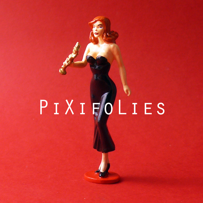 Pixi BERTHET : Pin-Up Origine Pin-Up et la Statuette