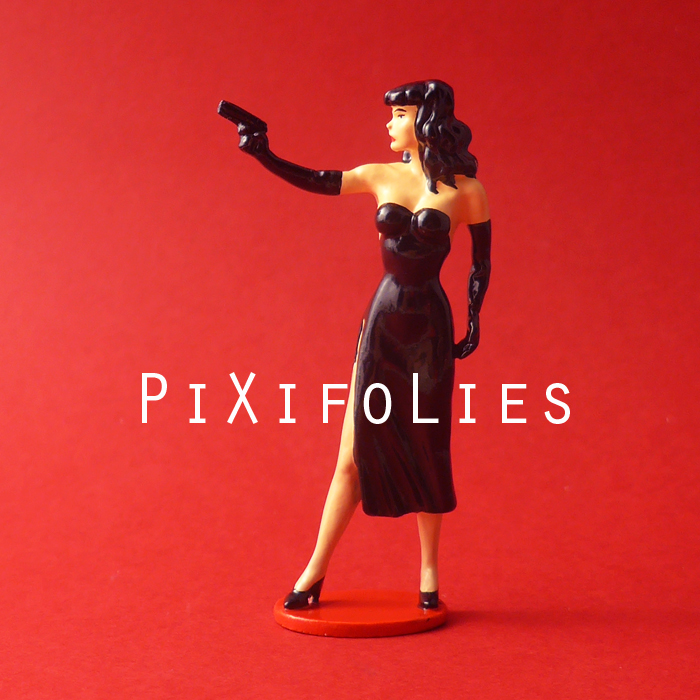 Pixi BERTHET : Pin-Up Origine Pin-Up au Pistolet