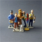 Moulinsart HERGÉ : Mini / 2ème Collection Moulinsart Plomb Mini-série figurines Album Les Bijoux de la Castafiore