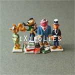 Pixi FRANQUIN : Mini Gaston Lagaffe ( 5 figurines)
