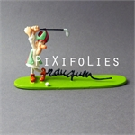 Pixi FRANQUIN : Signature La Mitre railleuse Golfeur / Marsu Production