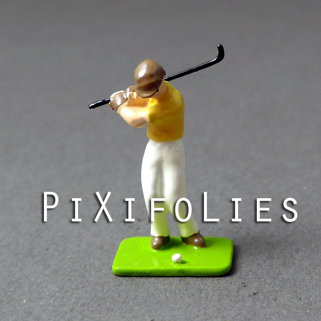 Pixi MINI : Civils 30 MM Le golfeur