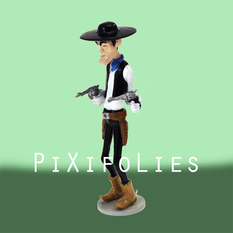 Pixi MORRIS : Lucky Luke Origine Phil Defer