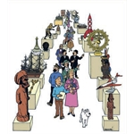 HERGÉ : Moulinsart Plomb / Collection Musée Imaginaire